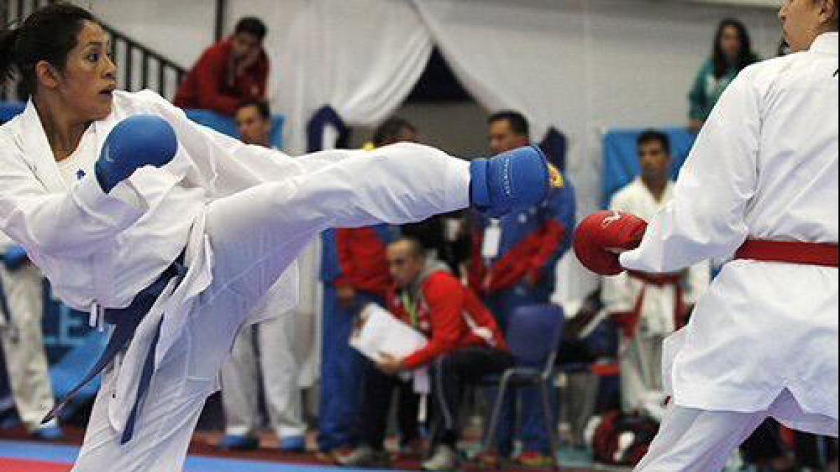 Chilena va por su paso a la final en el Karate en Toronto