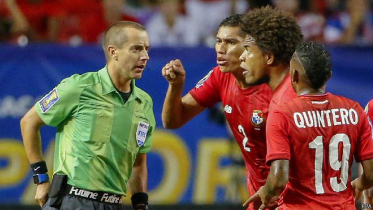 Mark Geiger, el árbitro que indignó a Panamá en el partido contra México de la Copa de Oro