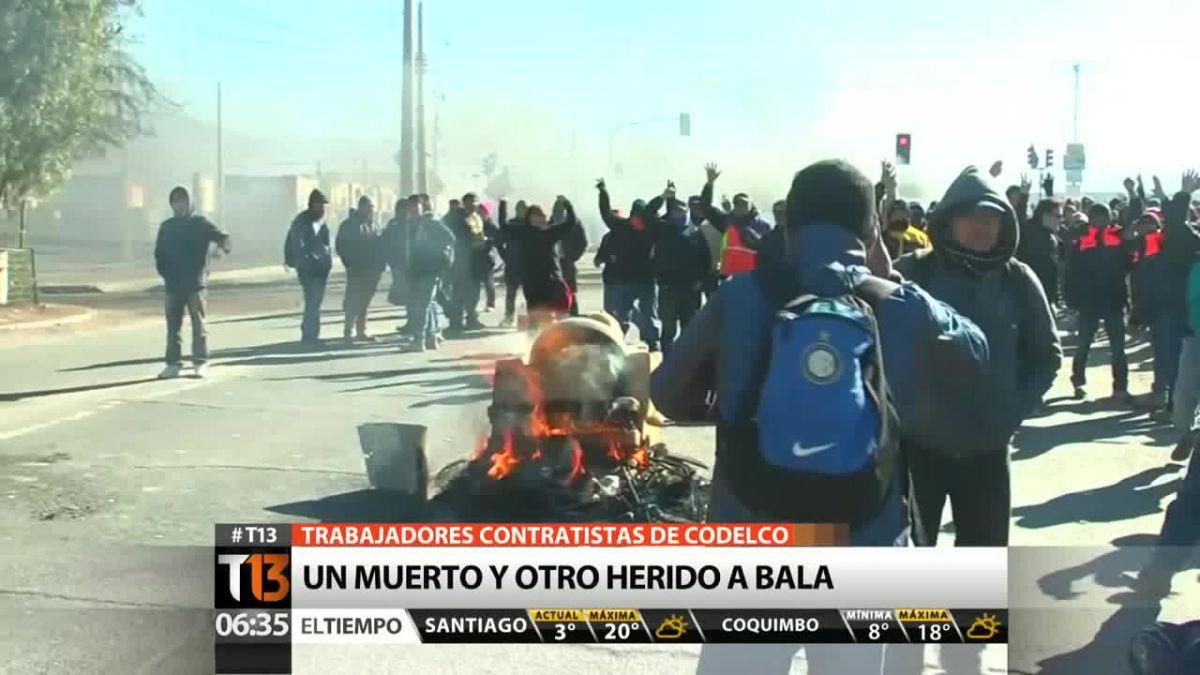 Fiscalía de Atacama indaga muerte de trabajador tras enfrentamiento con Carabineros en El Salvador