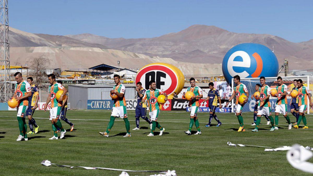 ANFP suspende partido de Cobresal ante San Luis en el arranque del Apertura