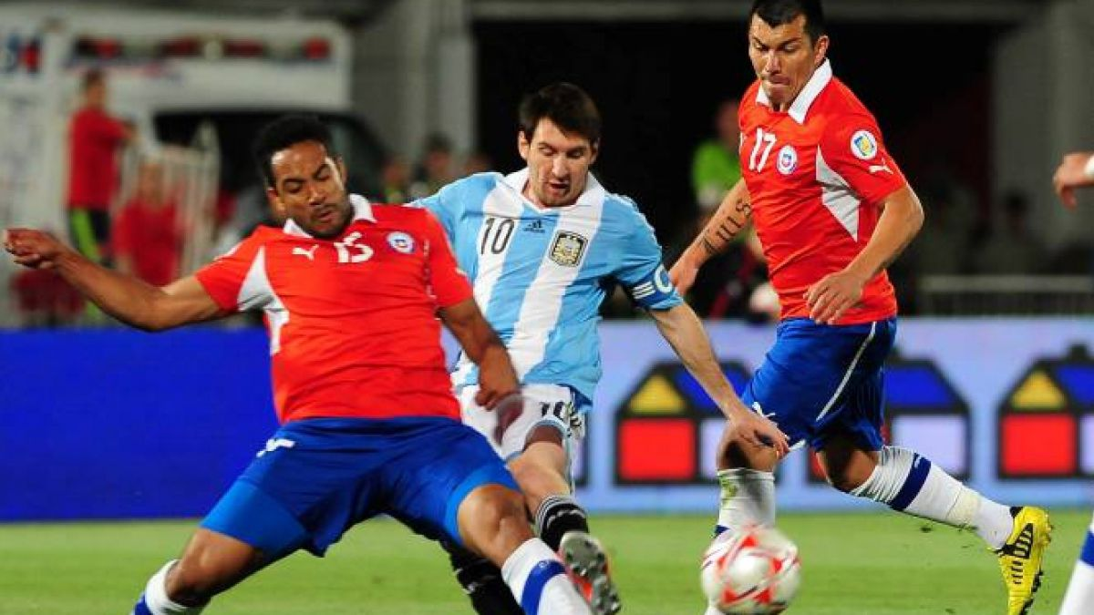 El frente a frente de Chile vs Argentina en eliminatorias