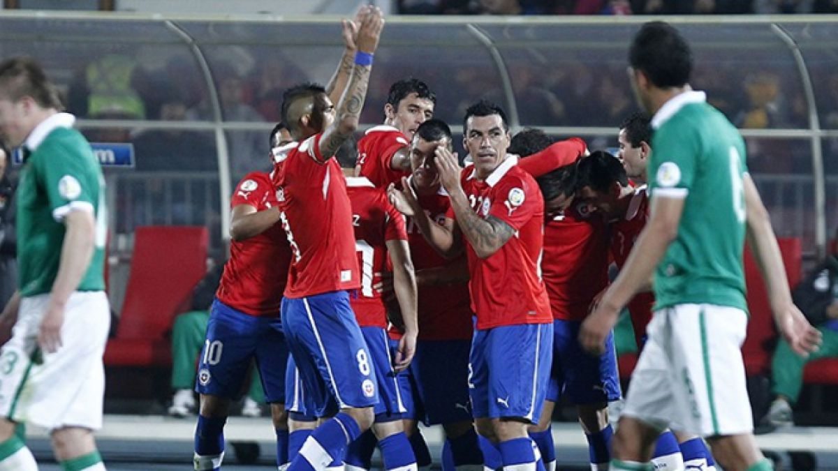 El frente a frente de Chile vs Bolivia en eliminatorias