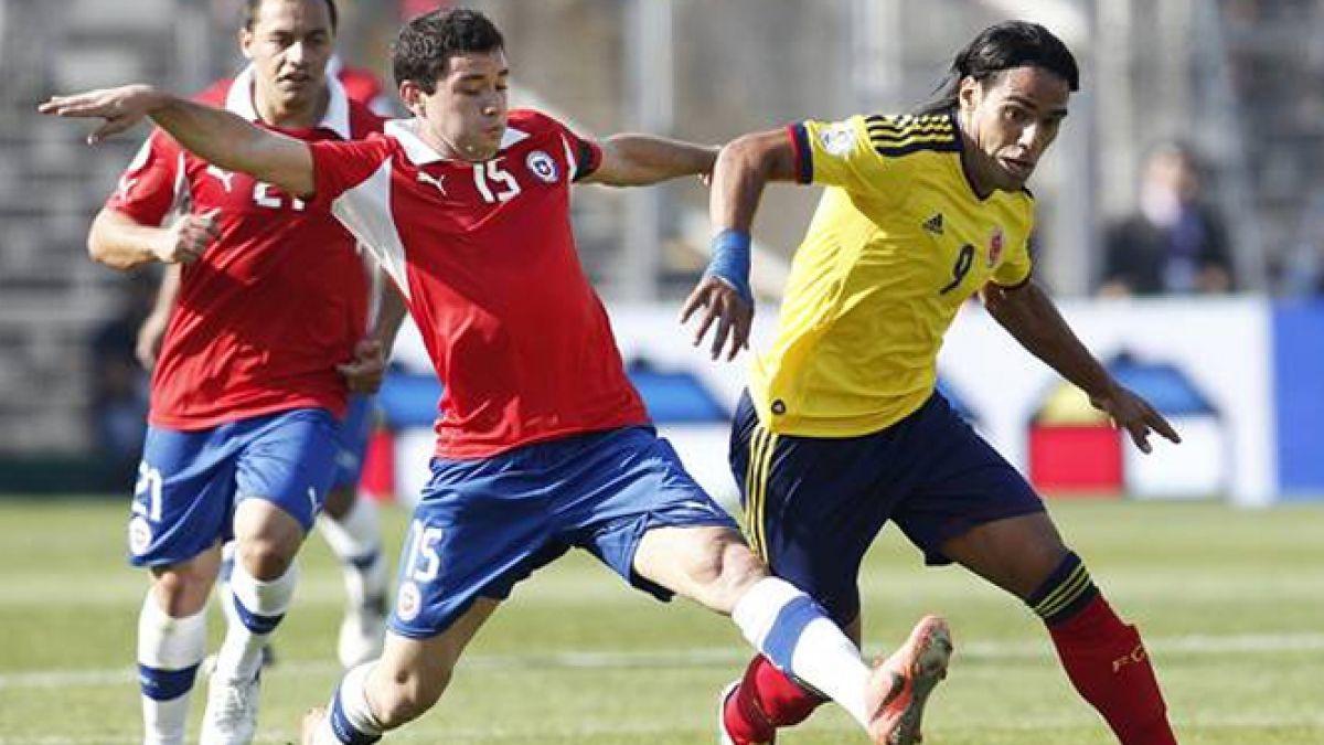 El frente a frente de Chile vs Colombia en eliminatorias