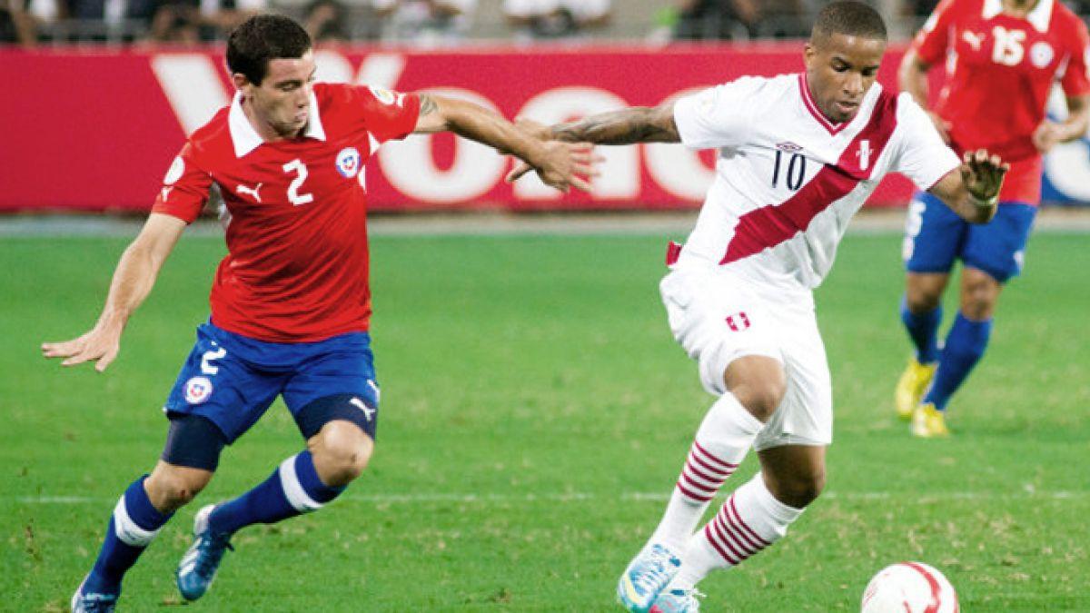 El frente a frente de Chile vs Perú en eliminatorias