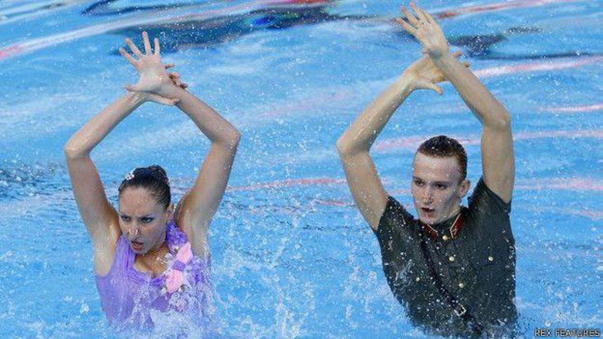 ¿Por qué los hombres no compiten en nado sincronizado en los Olímpicos?