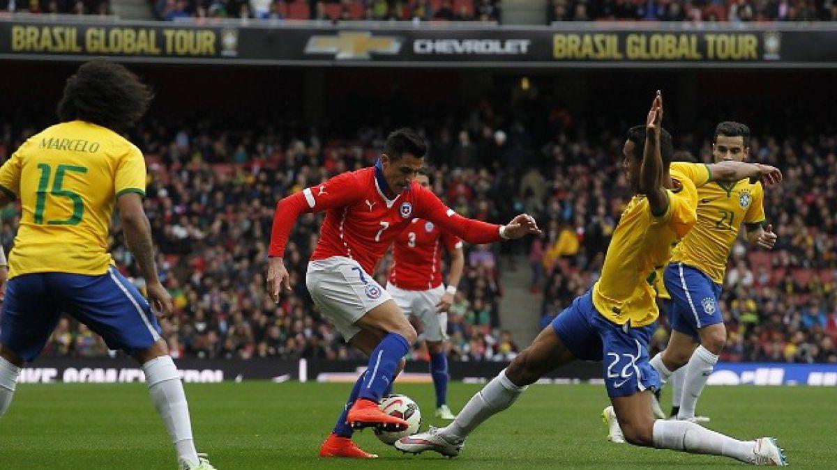 Cómo le ha ido a Chile contra Brasil en las últimas clasificatorias del Mundial