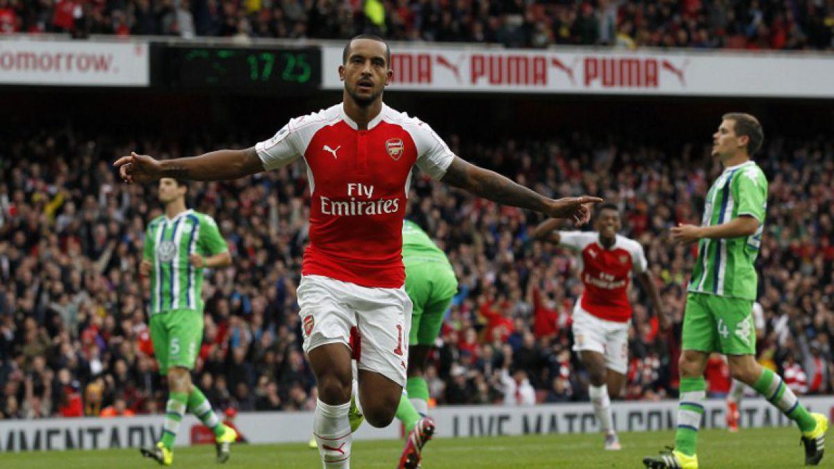 Arsenal sin Alexis vence al Wolfsburgo y logra la Emirates Cup
