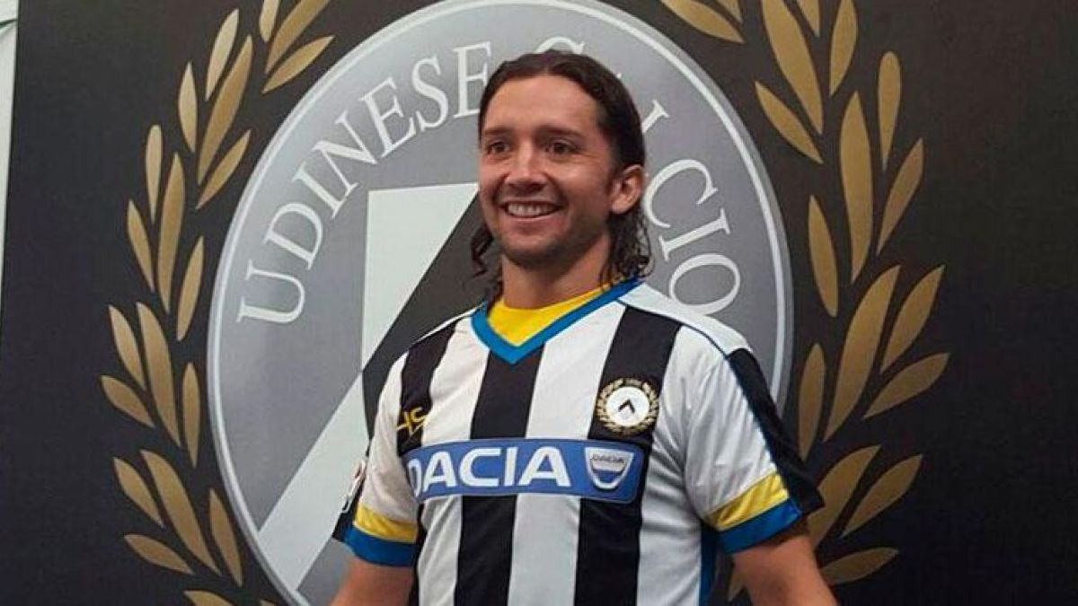 Iturra es oficialmente jugador del Udinese