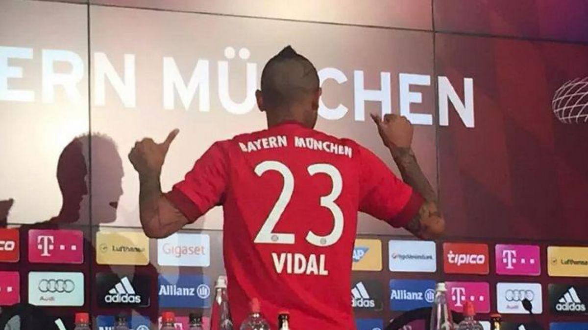 Vidal y el sueño con el Bayern: Vengo a dar lo mejor de mí y ganar títulos