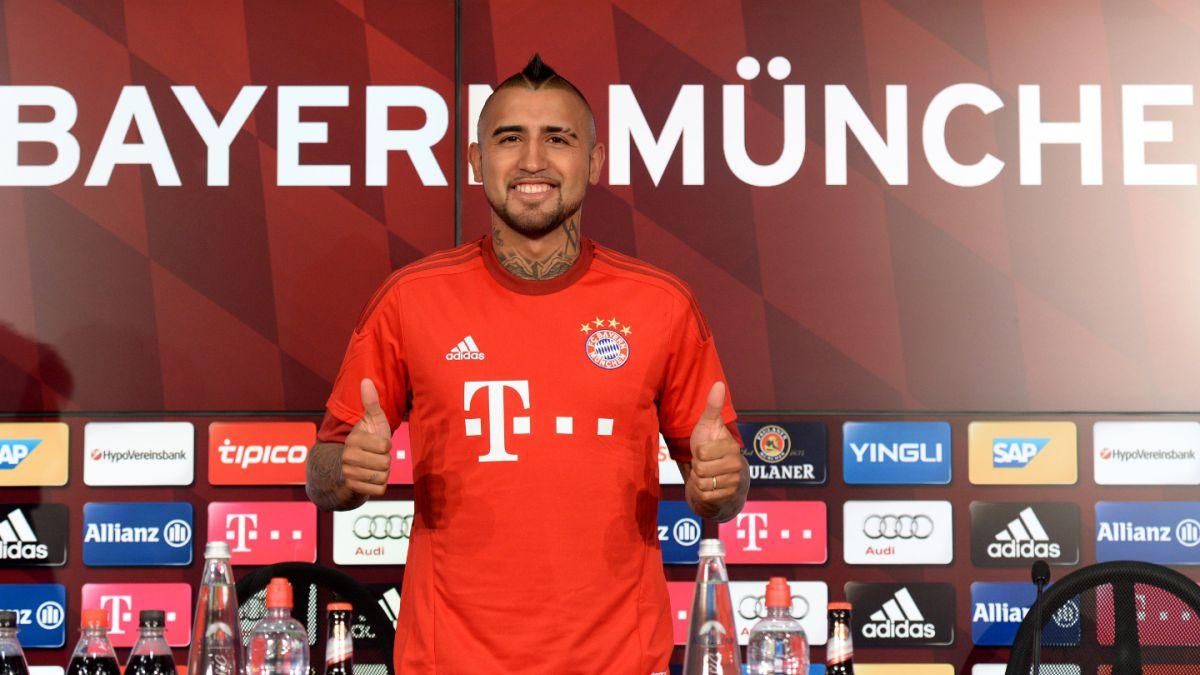 Vidal comienza a sumar elogios en Alemania