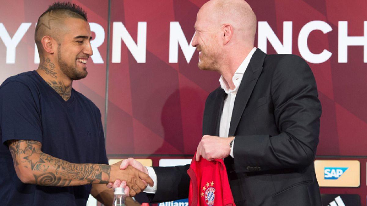 Arturo Vidal llega al Bayern Munich y se convierte en el futbolista chileno mejor pagado