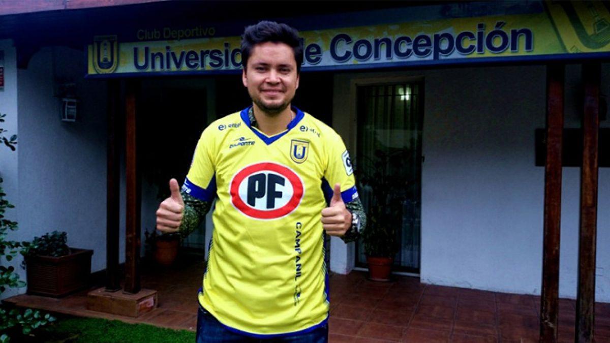 Waldo Ponce es el nuevo refuerzo de Universidad de Concepción