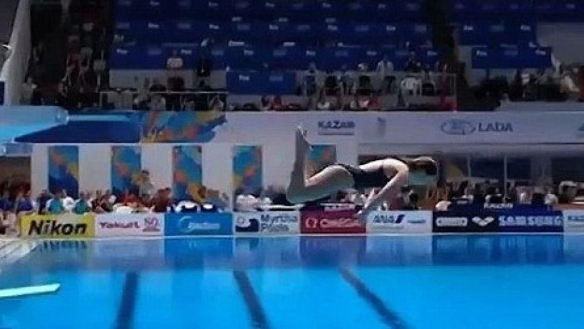 Australiana vive bochorno al marcar cero puntos en el Mundial de Kazan