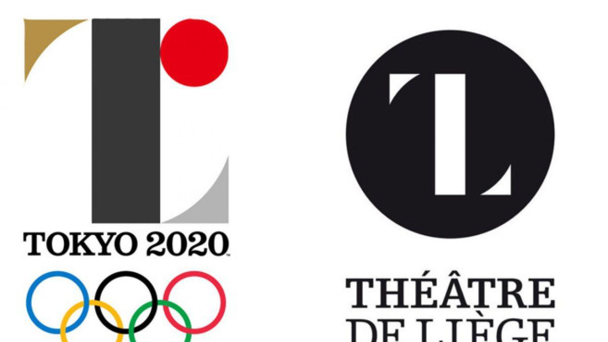 Polémica por semejanzas entre el logo de Tokio-2020 y el Teatro de Lieja