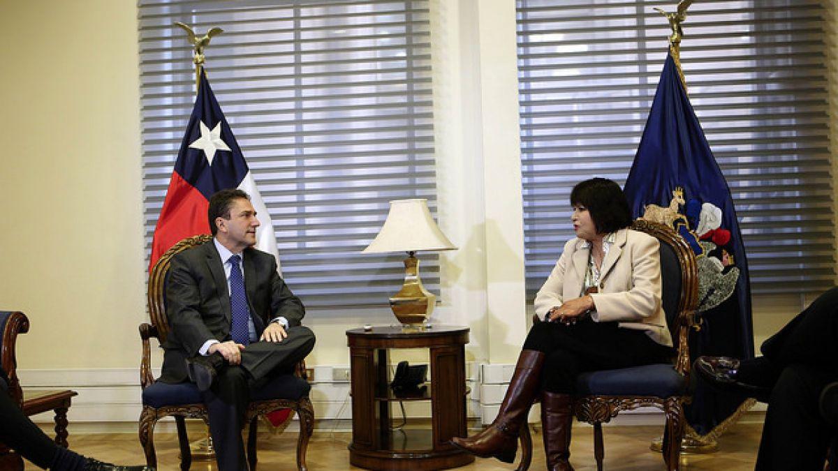 Gómez se reunió hoy con Carmen Gloria Quintana