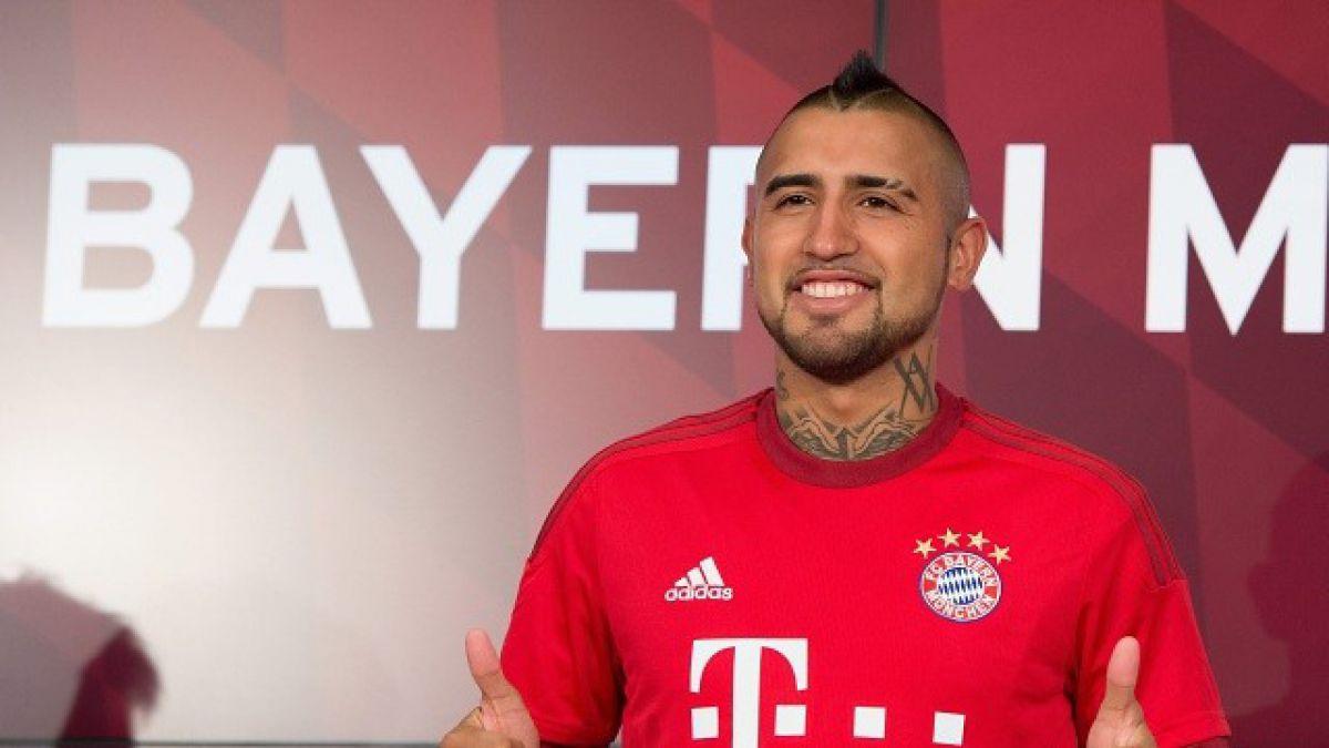 Arturo Vidal es citado en Bayern Munich para la Supercopa ante Wolfsburgo