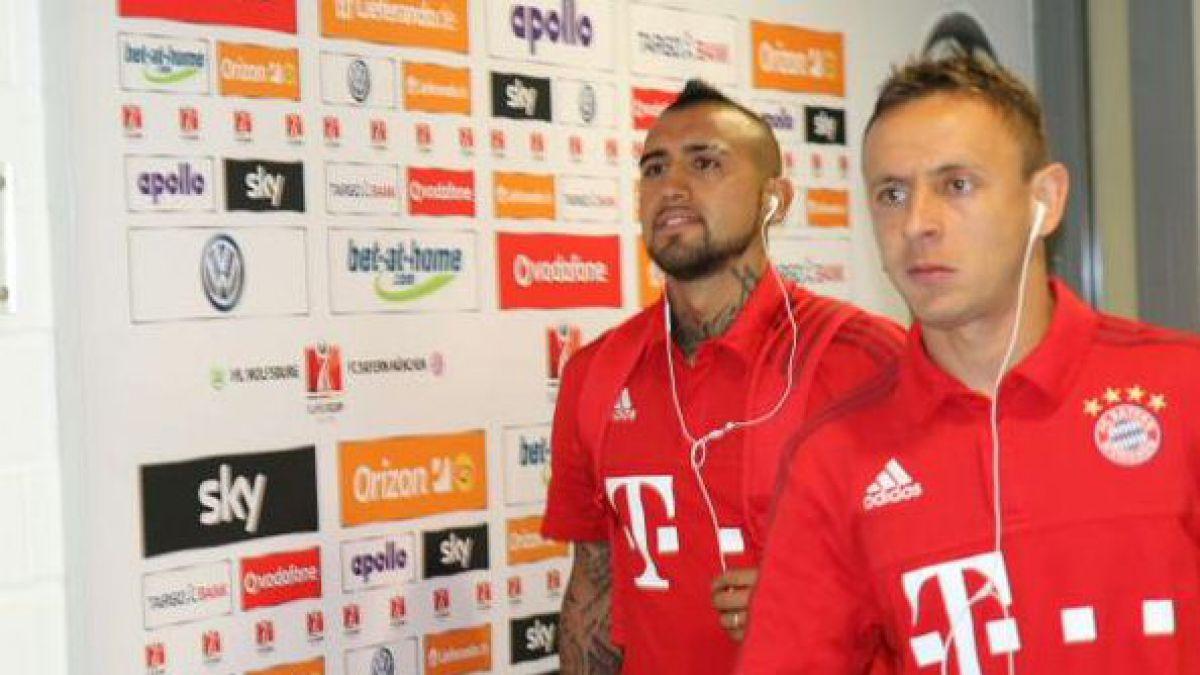 Arturo Vidal va a la banca en duelo entre Bayern Munich y Wolfsburgo por la Supercopa