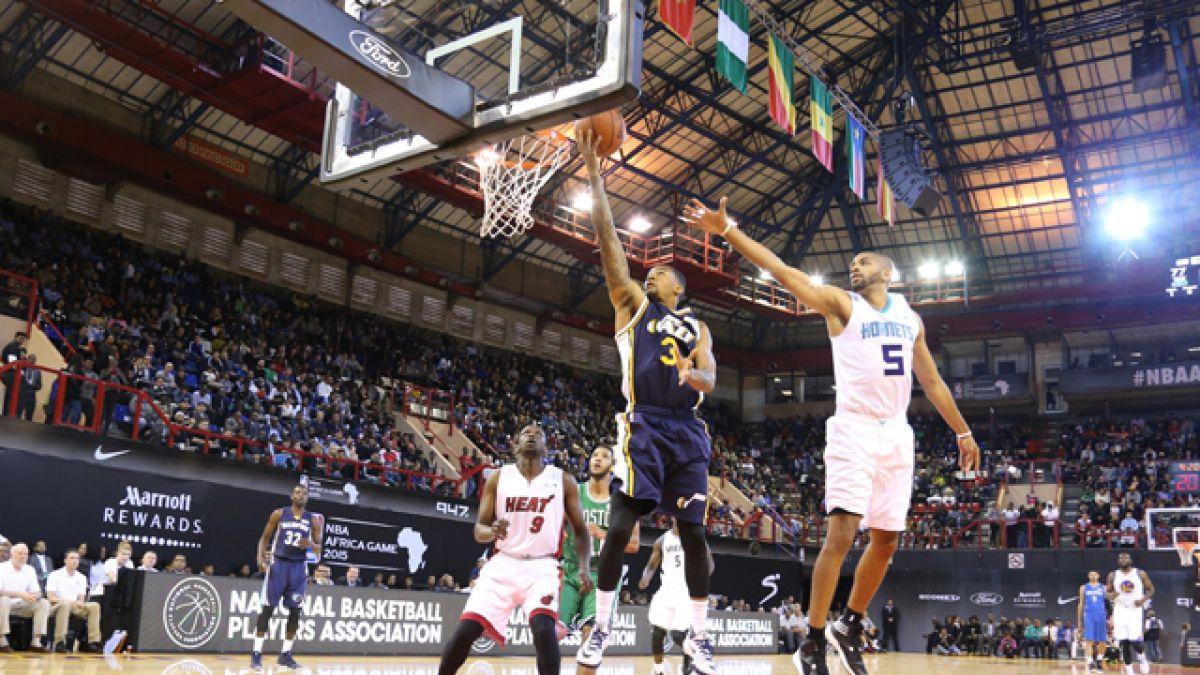 Equipo Mundial se queda con la victoria en el primer partido NBA en África