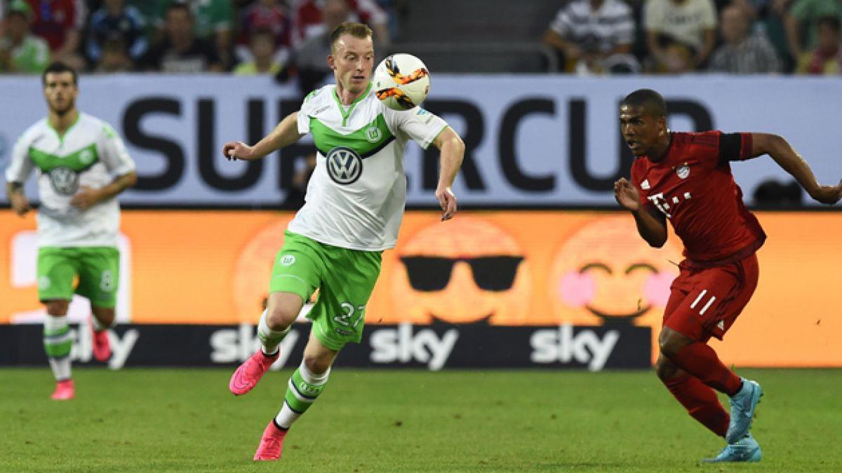 [GOL A GOL] Bayern enfrenta a Wolfsburgo por la Supercopa con Vidal en la banca