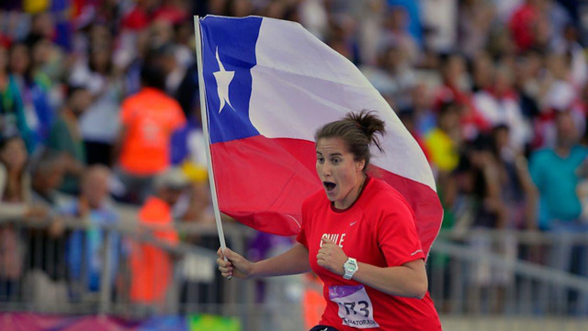 Karen Gallardo rompe récord de Chile en lanzamiento de disco y clasifica a Río