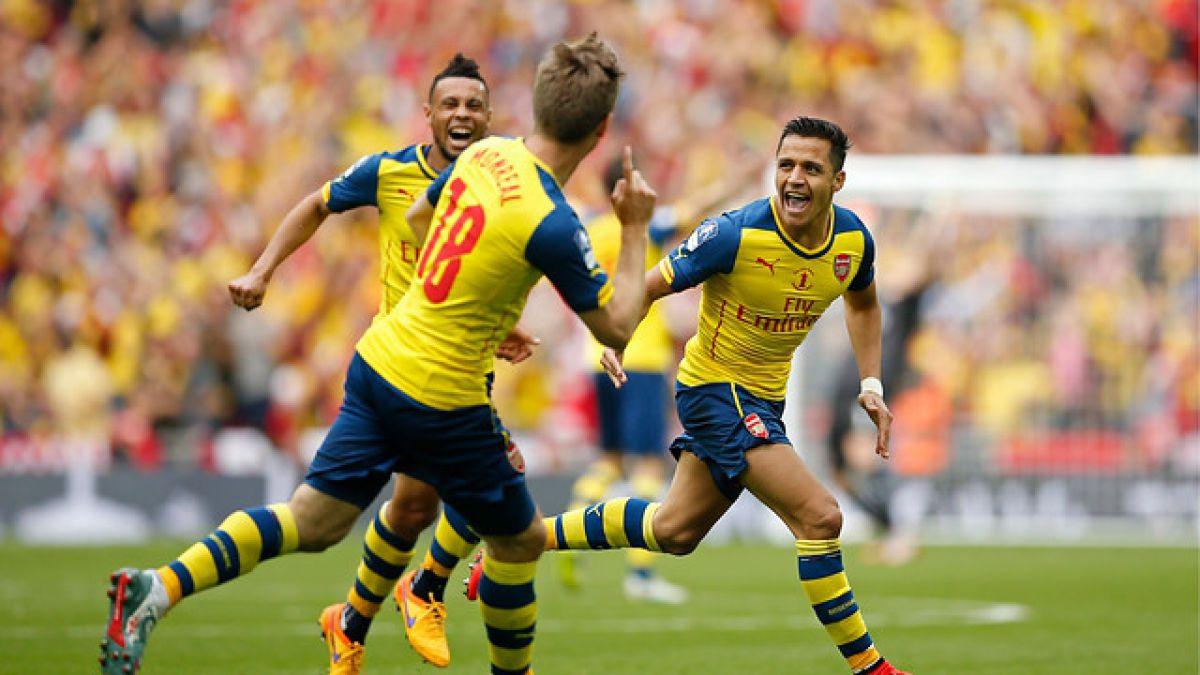 Alexis Sánchez atrasa su regreso a las prácticas de Arsenal FC