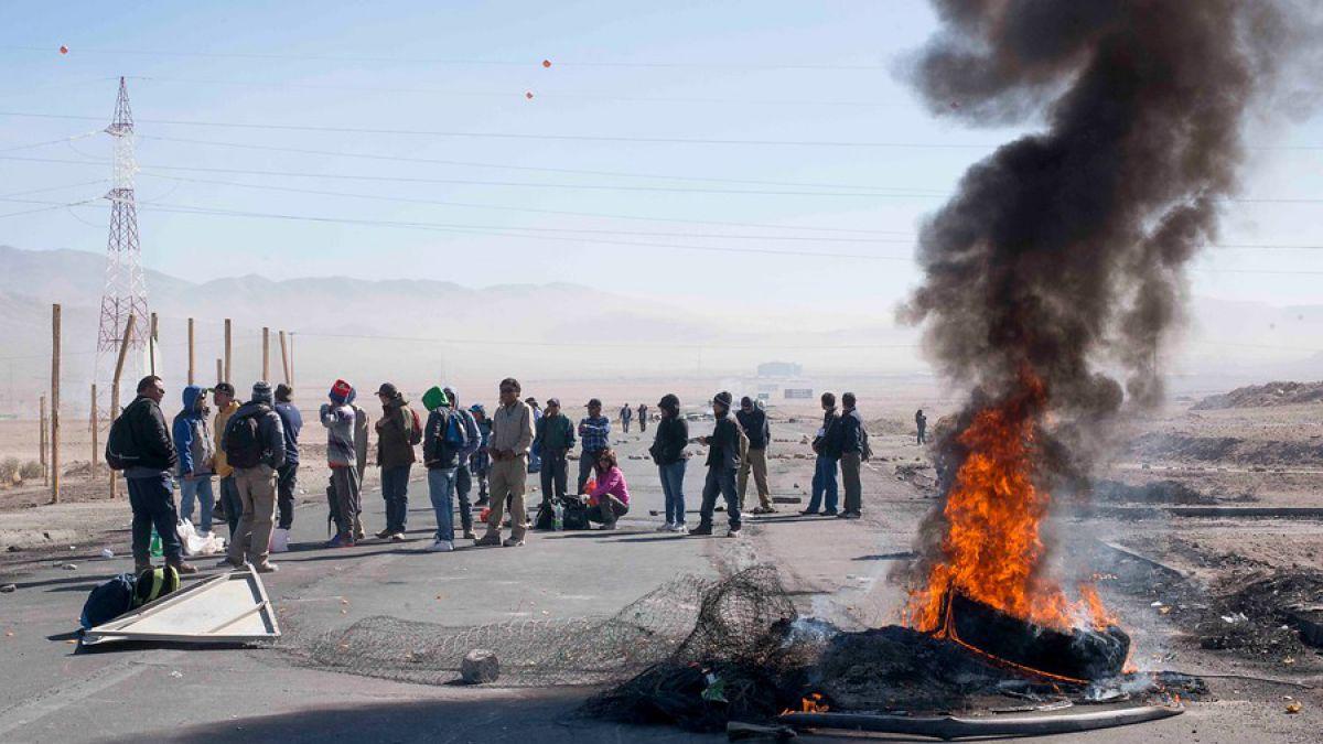 Codelco se querellará por manifestaciones en división Ministro Hales