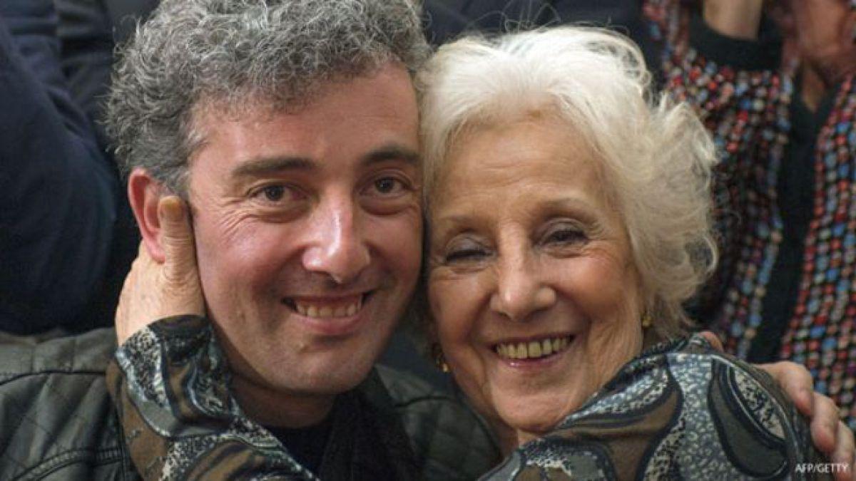 Estela Carlotto y su nieto hablan a un año del encuentro   Tele 13