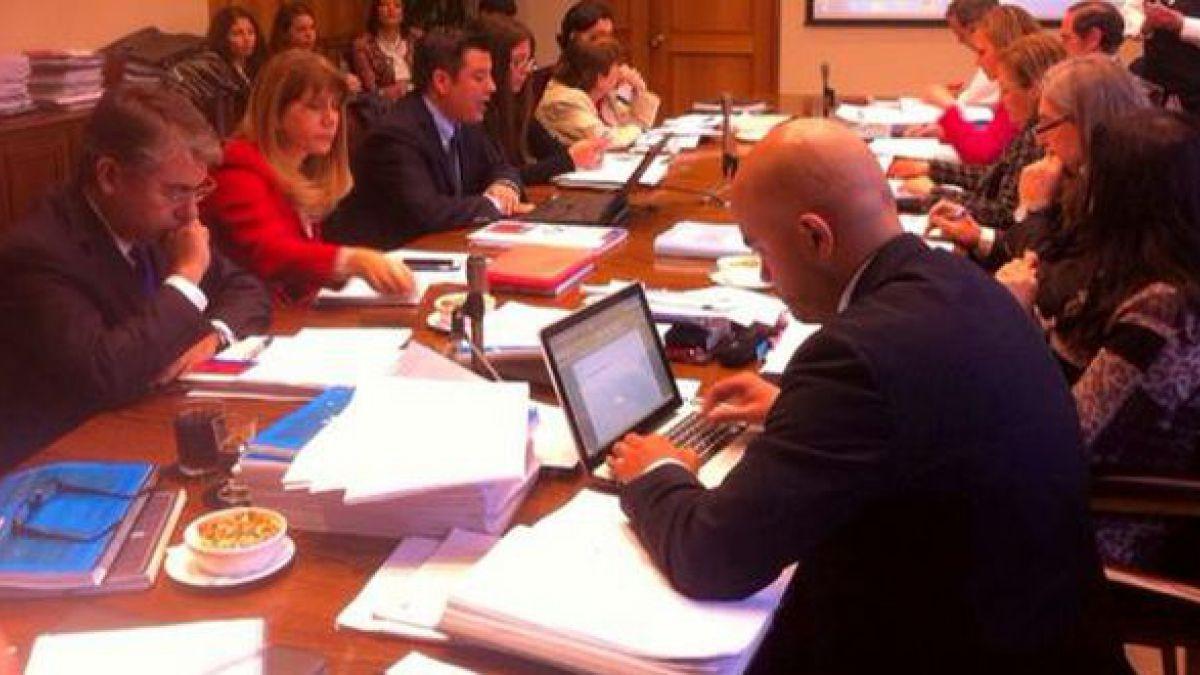 Comisión de Trabajo en el Senado