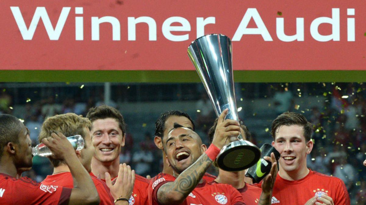 Arturo Vidal consigue su primer título junto a Bayern Munich