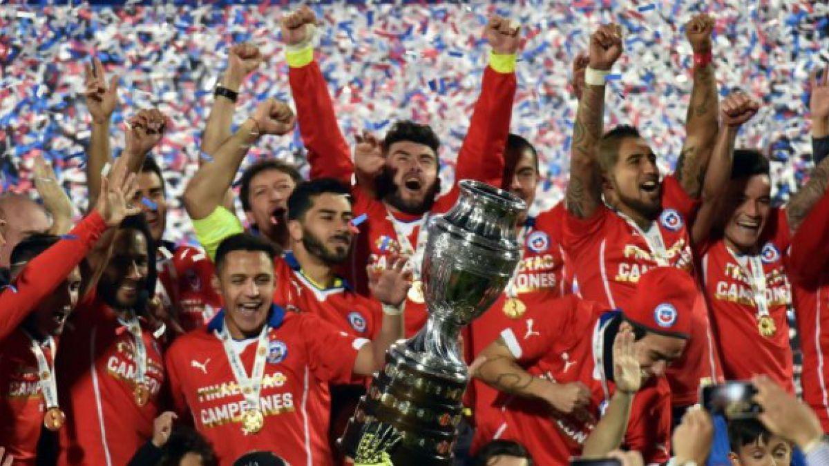 La Roja avanza e ingresa al Top Ten en el nuevo Ránking FIFA