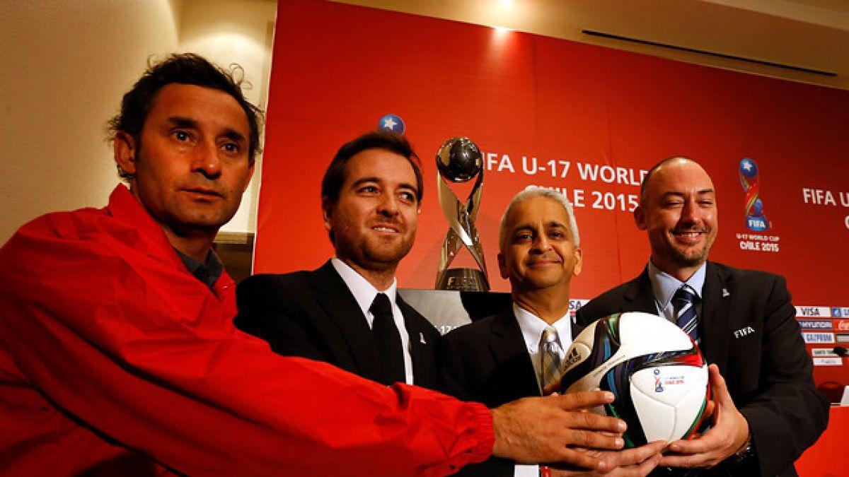 """FIFA admite que dos sedes llegarán """"muy justas"""" al Mundial Sub 17 Chile 2015"""