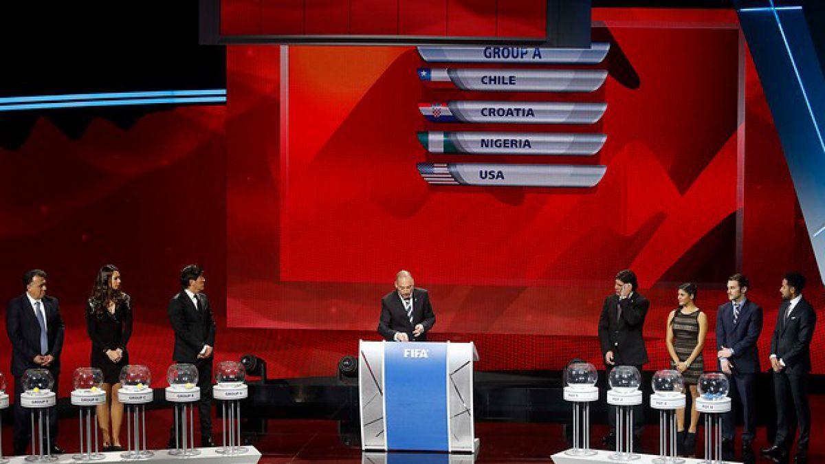 Chile enfrentará a Croacia, Nigeria y Estados Unidos en el Mundial Sub 17