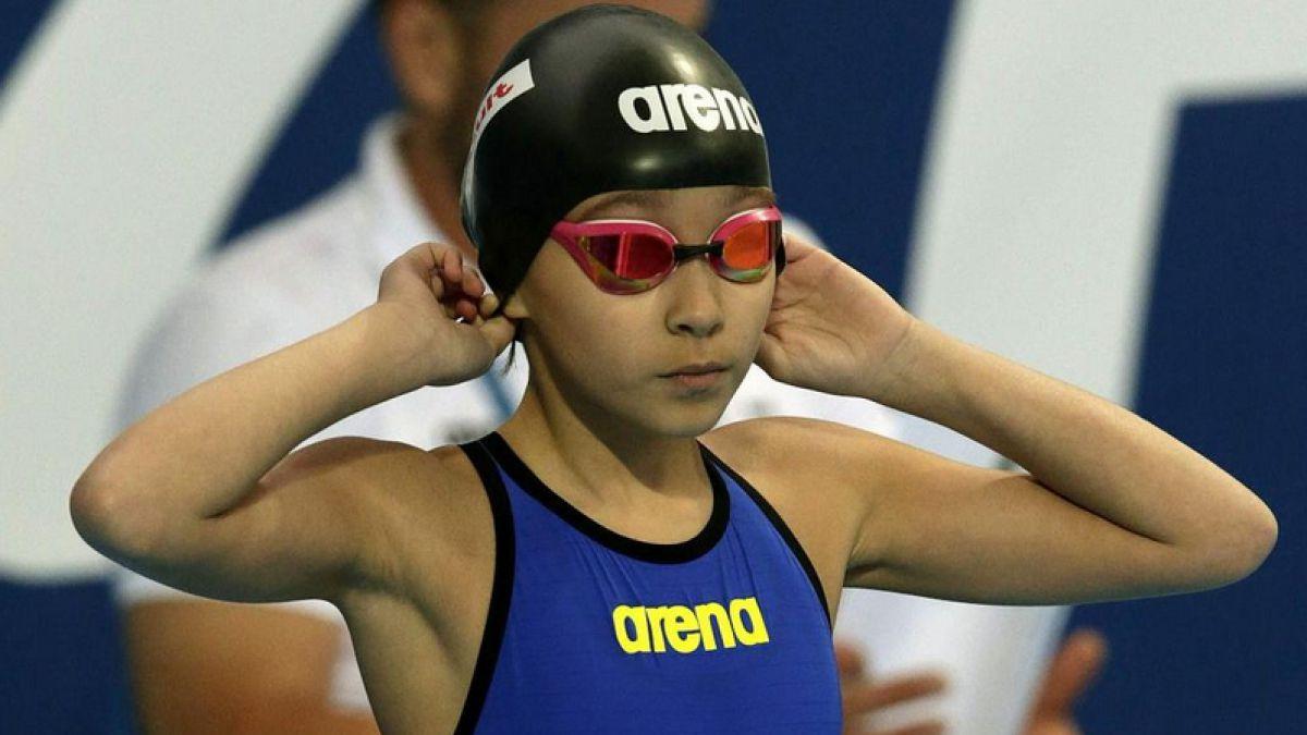 Alzain Tareq, la niña de 10 años que competirá en el Mundial de natación