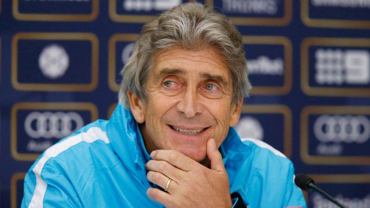 Manuel Pellegrini extiende contrato hasta 2017 con Manchester City