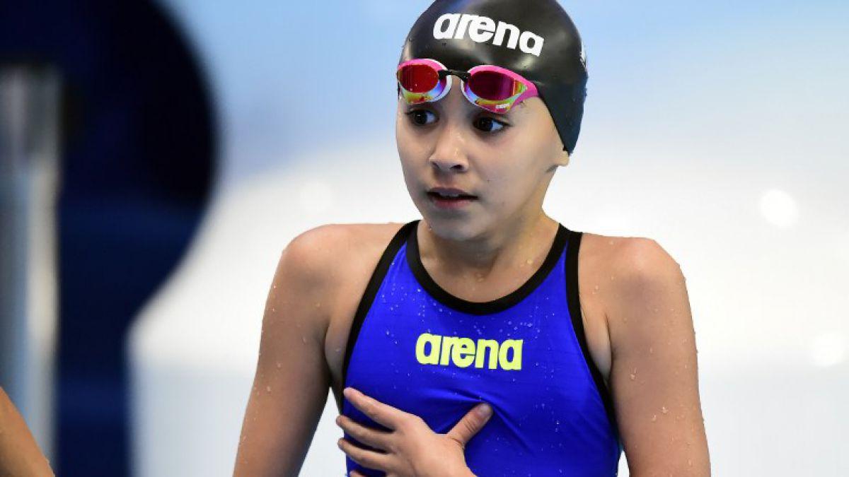 La increíble historia de la niña de 10 años que compitió en el Mundial de Natación