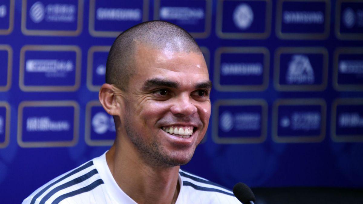 Pepe será baja en el Real Madrid por lesión en un gemelo