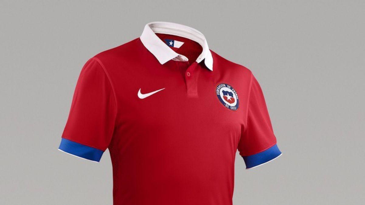 #lanuevaroja: La nueva indumentaria de la Selección chilena