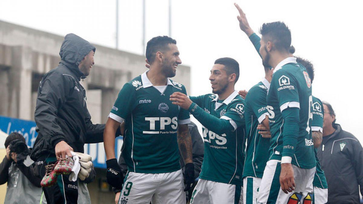 Santiago Wanderers, sin Pizarro, venció a San Luis en el Torneo de Apertura
