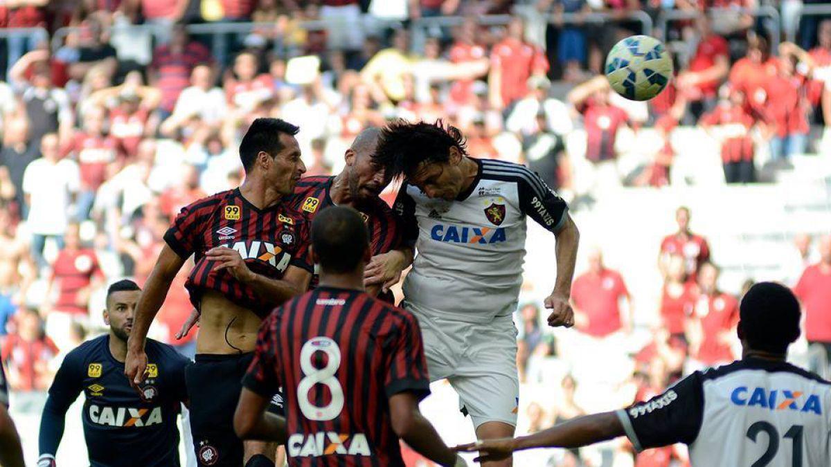 [VIDEO] El agónico gol de Christian Vilches que le dio el empate a Atlético Paranaense