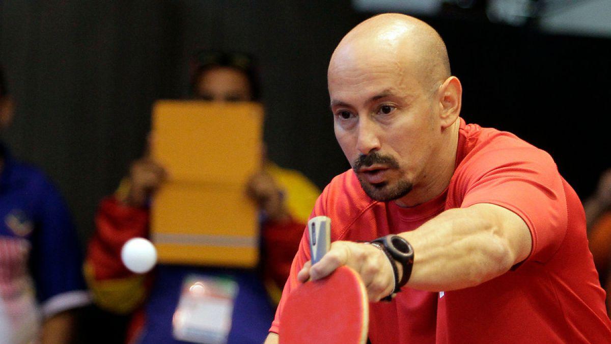 Parapanamericanos: Cristián Dettoni obtiene bronce para Chile en tenis de mesa