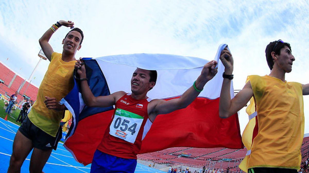 Parapanamericanos: Valenzuela se queda con la plata finalmente en 5.000m