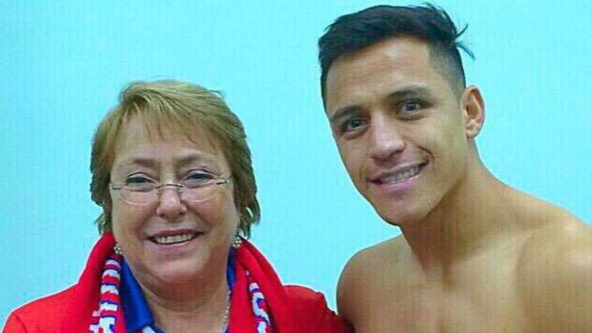 Alexis Sánchez agradeció a Presidenta Bachelet por visitar Tocopilla