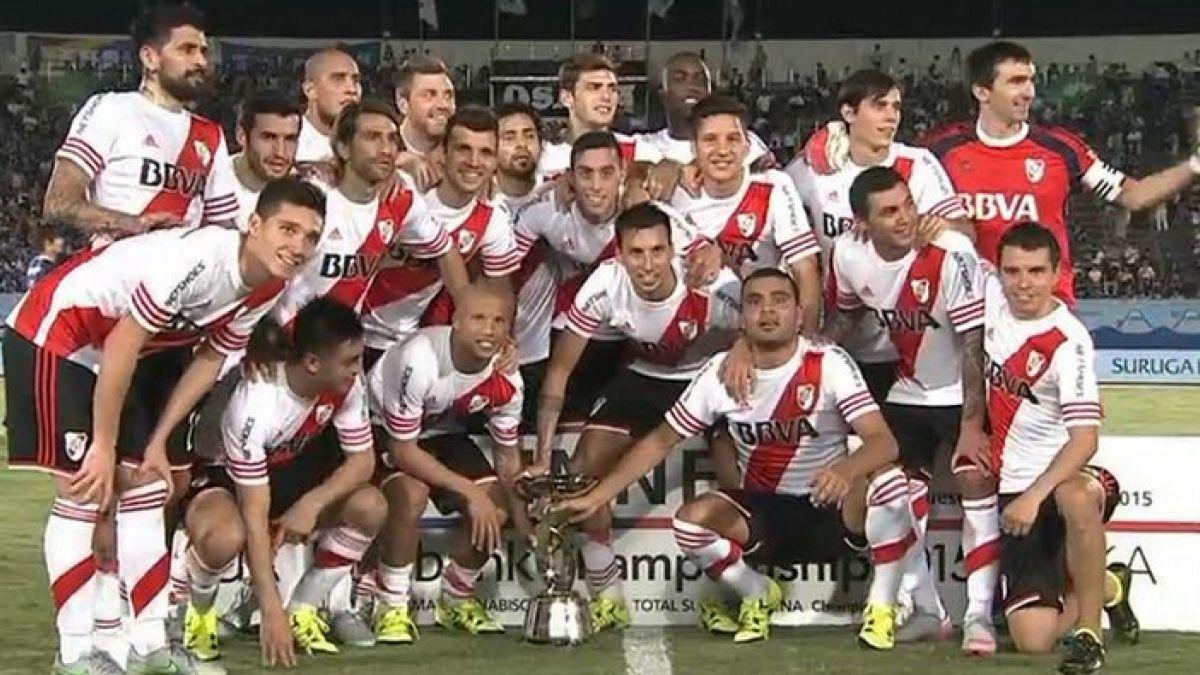 River Plate golea al Gamba Osaka y se queda con la Copa Suruga Bank