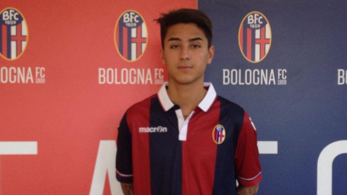 Erick Pulgar fue presentando en Bologna y apunta a Arturo Vidal