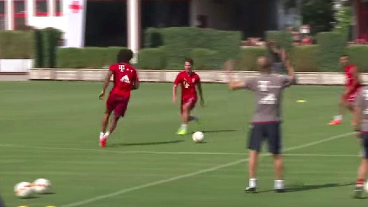 Guardiola se enfurece en práctica del Bayern Münich por un lujito