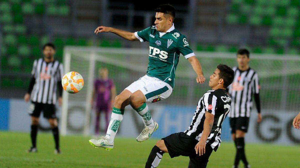 Santiago Wanderers se complica en la Sudamericana tras igualar frente a Libertad