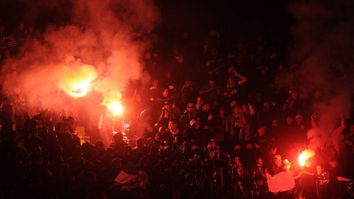 Las bengalas empañaron el reestreno internacional de Santiago Wanderers