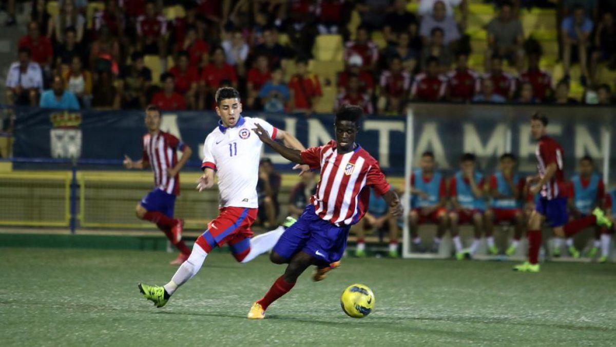 Selección Chilena Sub 20 vence a Atlético de Madrid y llega invicta a cuartos del Torneo L'Alcudia