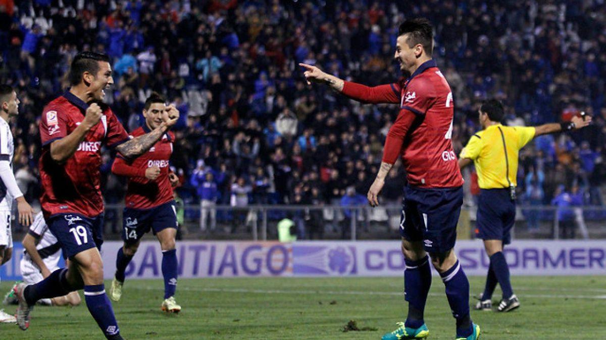 [MINUTO A MINUTO] Con gol de Mark González la UC vence a Danubio en Sudamericana