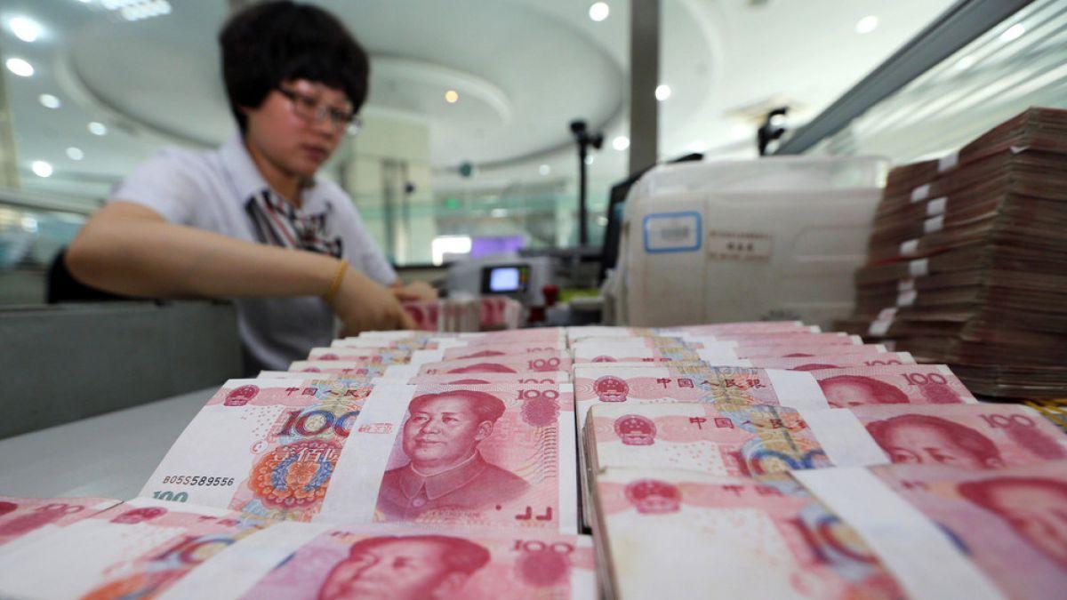 Bolsa de Shanghai cierra en fuerte baja de 3,42%